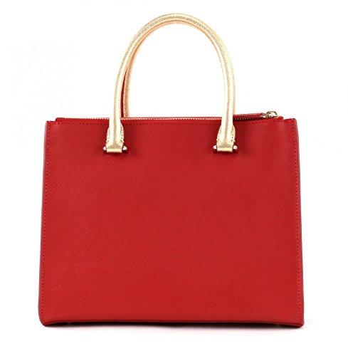 LANCASTER Camélia Hand Bag S Rouge/Poudre