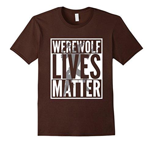 Mens Funny Halloween Costume Ideas 2017 Werewolf Shirt XL Brown (Funny Ideas For Halloween Costumes 2017)