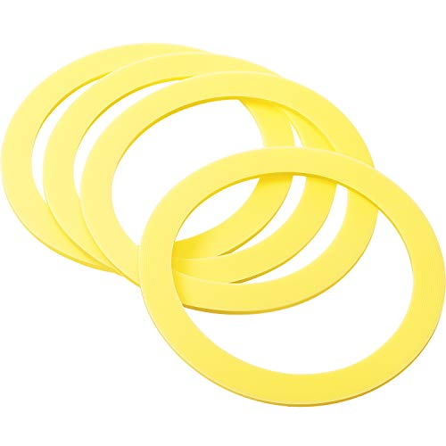 Jovitec 4 Pack Toilets Valve Seal Replacement Canister Flush Valve Seal Rubber Toilet Seal Gasket Compatible with Kohler (Equivalent to K-GP1059291)