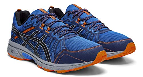 ASICS Gel-Venture 7 Men's Running Shoes, Electric Blue/Sheet Rock, 8.5 XW US (Electric Blue Sneakers)