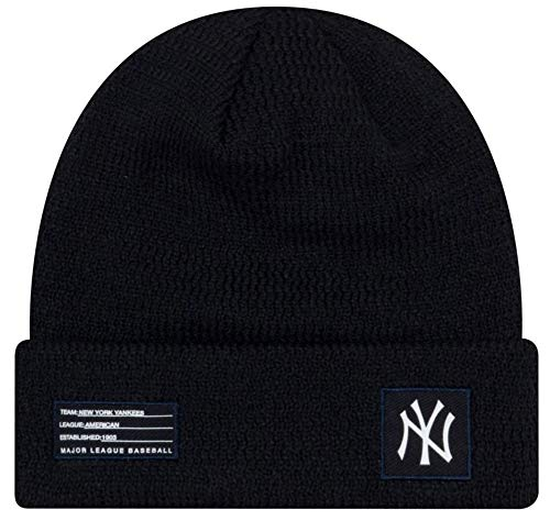 - New Era MLB New York Yankees Sport Stocking Knit Hat Beanie Cuff Skull Cap Navy