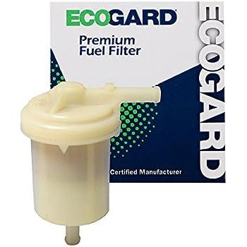 ecogard xf29158 engine fuel filter - premium replacement fits dodge ram 50,  raider, d50