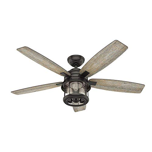 Outdoor Rustic Ceiling Fans With Lights in US - 7