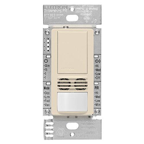 Lutron Maestro Dual Tech Occupancy Sensor Switch, neutral re