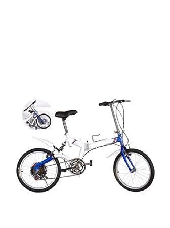 SVG Bicicleta Plegable Urban Azul/Blanca Unica