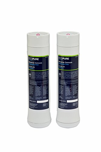 EcoPure Reverse Osmosis Under Sink Replacement Water Filter Set (ECOROF) | NSF Certified | Fits ECOP30 System | 6-Month Filter Life by EcoPure