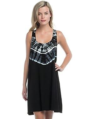 Women's Half Moon Cover Up Dress