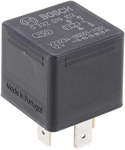 4 Pins, 12 V, 30 A, Bosch 0332019103 Normal Open Mini Relays