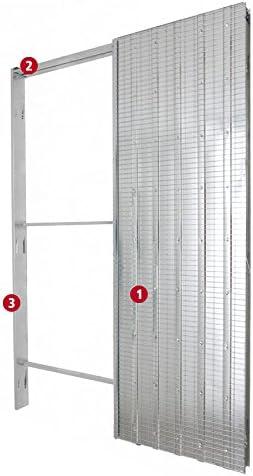 Intrek - Contramarco para puerta retráctil, puerta corrediza, tipo ...