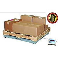 Certified NTEP 5000lb/1lb 48x48 Legal For Trade Floor Scale with Indicator