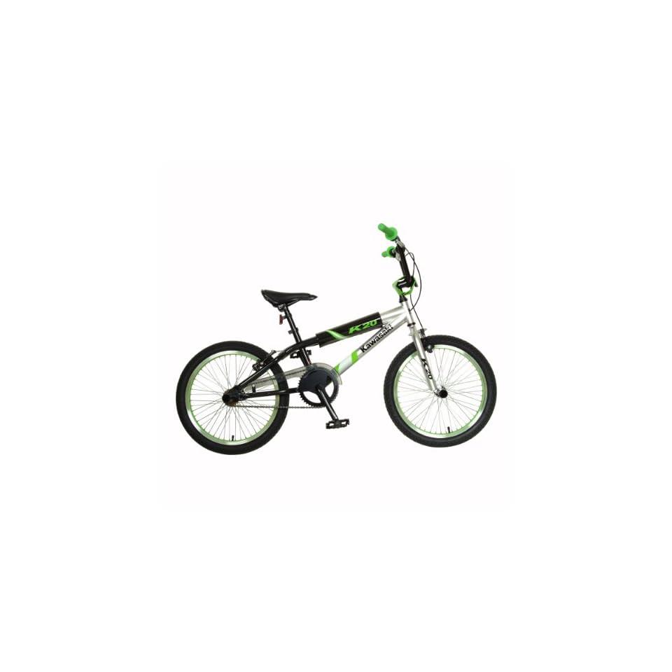 Razor Boys Aggressor BMX Bike (20 Inch Wheels, Black/Red)