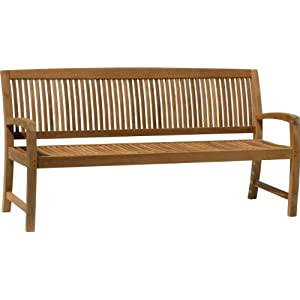 41R7h88331L._SS300_ 100+ Outdoor Teak Benches