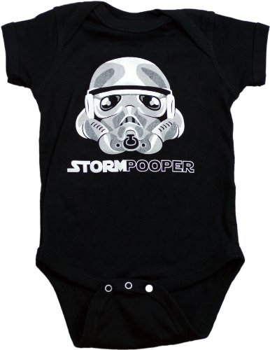 "Ann Arbor T-shirt Co. Unisex Baby ""STORMPOOPER"" 