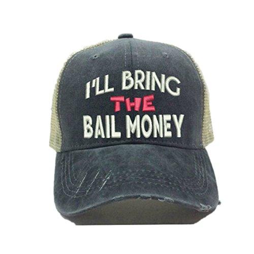 dd113db5d7960c Adult Custom Distressed Funny Party Trucker Hat