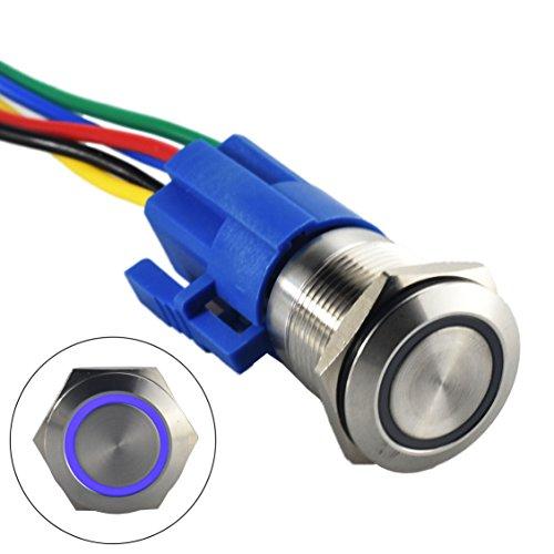 Ring Blue Led (API-ELE [3 year warranty] 19mm 0.74