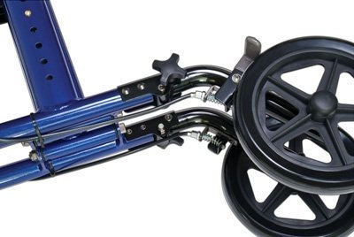 Lumex LX1000-RW Replacement Left and Right Rear Wheel for Hybrid Transport Chair by Lumex