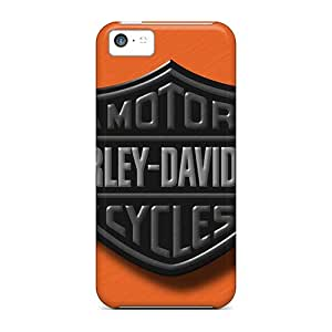 Iphone 5c Lty11910dzuC Support Personal Customs Stylish Harley 4 Pictures Shock Absorption Hard Phone Case -DannyLCHEUNG