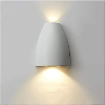& apliques pared dormitorio Lámpara de pared, moderna sala de estar minimalista dormitorio LED de noche Baño Escalera lámpara de pared lampara pared (Color : B): Amazon.es: Iluminación