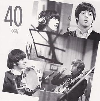 The Beatles 40th Birthday Card Amazon Home Kitchen