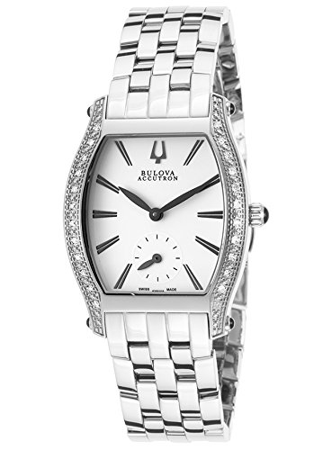 Accutron Women Stainless Steel Diamond Watch - 3