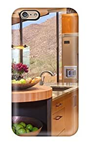 High-quality Durable Protection Case For Iphone 6(contemporary Kitchen With Granite And Butcher Block Countertops)