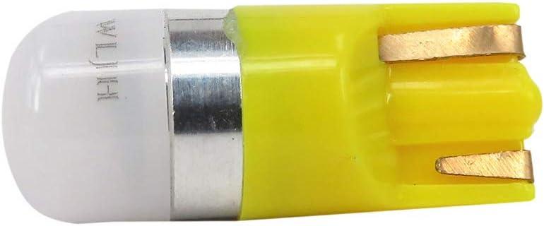 WLJH 20pcs Rose T10 W5W 194 LED Ampoule Jauge Cluster Tableau De Bord Lumi/èRes Dash Int/éRieur Voiture D/ôMe Ampoules Plaque DImmatriculation D/éGagement Lat/éRal Marqueur Feu De Stationnement