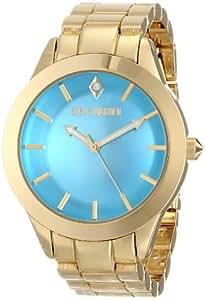 Steve Madden Women's SMW00027-12 Analog Display Quartz Gold Watch