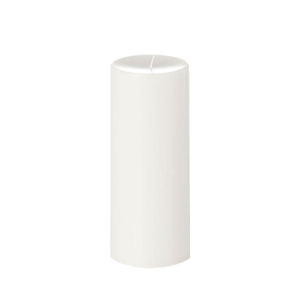 Yummi 4x10 Unscented Column Pillar Candle, White, ea