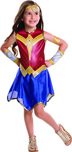 - 41R7l1kIdSL - Wonder Woman Movie Child's Value Costume