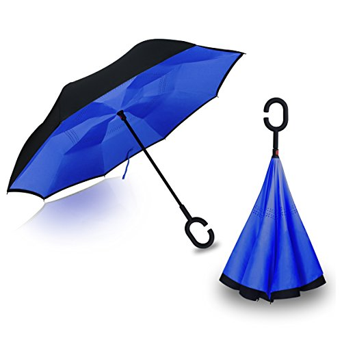 Hippih Reverse Inverted Umbrella Carrying