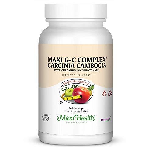Maxi Health G-C Complex – Garcinia Cambogia – Diet & Sugar Complex – 60 Capsules – Kosher For Sale