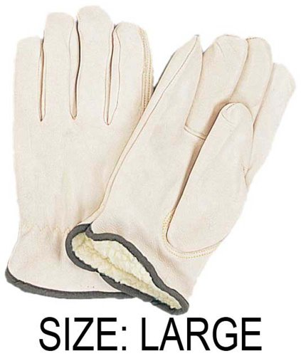 HEAVY DUTY- FULLY FLEECE LINED- DRIVER'S GLOVES : ( Pack of 2 Pairs )