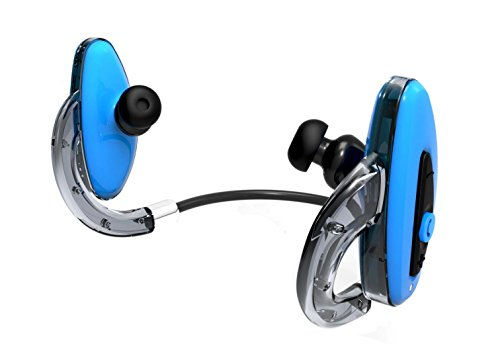 HXY H2O Swimming Bluetooth Waterproof Headphone - 16GB - Blue