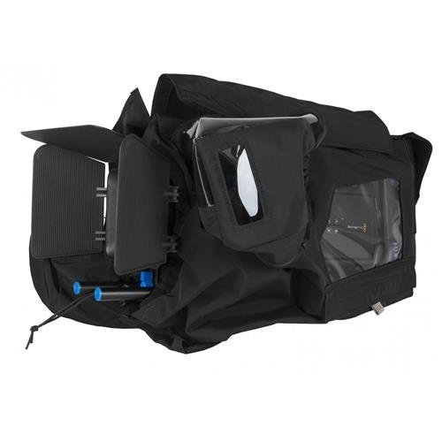 PortaBrace RS-URSAMINI Rain Slicker, Blackmagic URSA Mini, Black Rain Cover