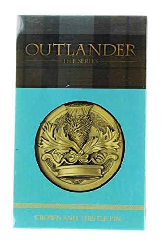 Dark Horse Deluxe Outlander Crown & Thistle Pin