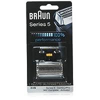 Braun Series 5 51S Cabezal de repuesto de papel de aluminio y cortador, compatible con los modelos anteriores de Series 5 - 590cc