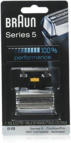 Cabeza de repuesto y hojas para cortador Braun Series 5 51S: Amazon.es: Belleza