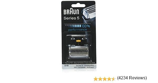 Cabeza de repuesto y hojas para cortador Braun Series 5 51S ...