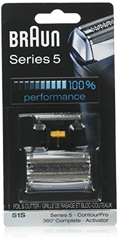 Braun Shaver Cartridges - Braun Series 5 51S Foil & Cutter Replacement Head, Compatible with Previous Series 5 Models - 590cc
