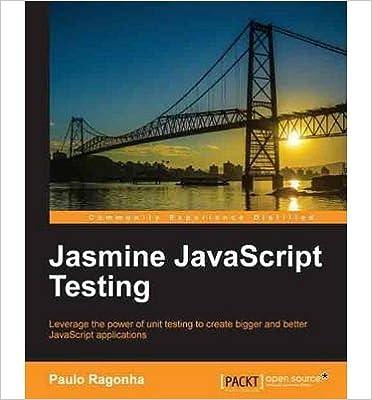 Livres pdf téléchargeables gratuitement [(Jasmine JavaScript Testing * * )] [Author: Paulo Ragonha] [Aug-2013] DJVU