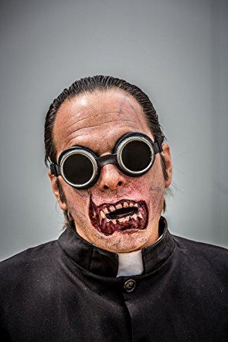 Latex Maske Korperteile Fasching Zombie Klaffende Wunde Und Zombie