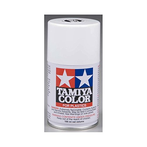 Tamiya Enamel Paints - Tamiya USA TAM85026 Spray Lacquer TS-26 Pure White
