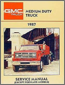 1987 GMC Medium Duty Truck Repair Shop Manual Original 4000-7000: GMC:  Amazon.com: BooksAmazon.com