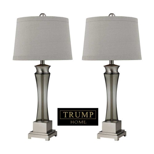 - Dimond Lighting D2339/s2 Trump Home Onassis 2-Light Contemporary Table Lamp, 2-Pack, 15