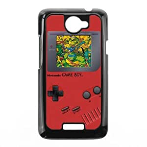 HTC One X Phone Case Black Game boy TMNT Teenage Mutant Ninja Turtles UYUI6761774