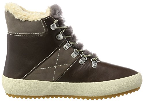 Brown GANT Hohe Dark Sneaker Damen Amy Braun FqqYRP7w