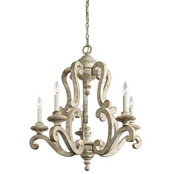 kichler lighting hayman bay chandelier 342 x wooden h