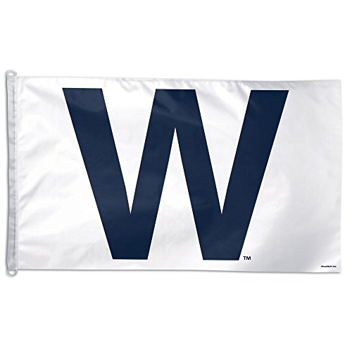 Chicago Cubs 3' x 5' Single-Sided W Win Flag