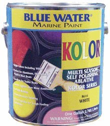 Kolor Admiral Green Gallon - 5 Copper Thiocyanate Ablative - Marine Paint Antifouling Bottom Paint - iPaint.us (Kolor Green)