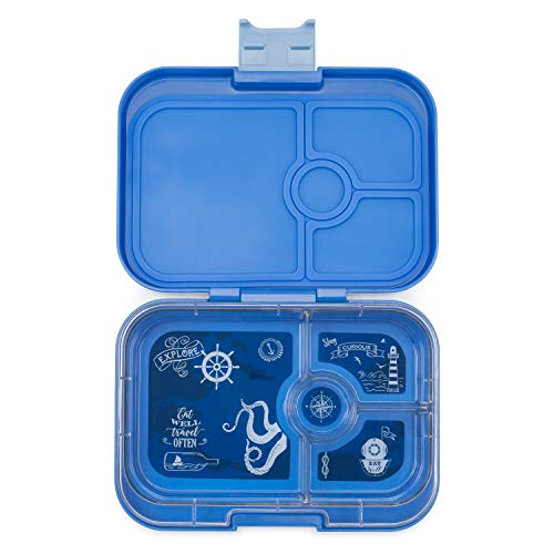 Yumbox Panino Leakproof Bento Lunch Box Container for Kids & Adults (Jodhpur Blue)